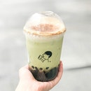 Brown Sugar Bobo w Matcha [S$4.50 + S$1.50] ・ Happy National Bubble Tea Day!☻ ☻ Wanted to get Mini @HeyTea but it cost S$9.90 for 2 small bottles so yup, went with my usual order instead😂 ・ #Burpple #FoodieGohOrchard ・ ・ ・ ・ #instadailyphoto #photooftheday #followme #follow #tslmakan #food #foodstagram #foodgasm #sgfoodies #sgfoodie #foodsg #singaporefood #whati8today #sgfoodporn #eatoutsg #8dayseat #singaporeinsiders #singaporeeats #sgfoodtrend #sgigfoodie #thisisinsiderfood #foodinsingapore #foodinsing #heytea #bubbletea #matcha #dessert