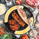 Featuring @DonDaeBak_SG's authentic charcoal Korean BBQ Buffet that's affordably priced at S$25.90 on Weekdays and S$27.90 on Weekends (Fri/Sat/Sun/PH/Eve).
