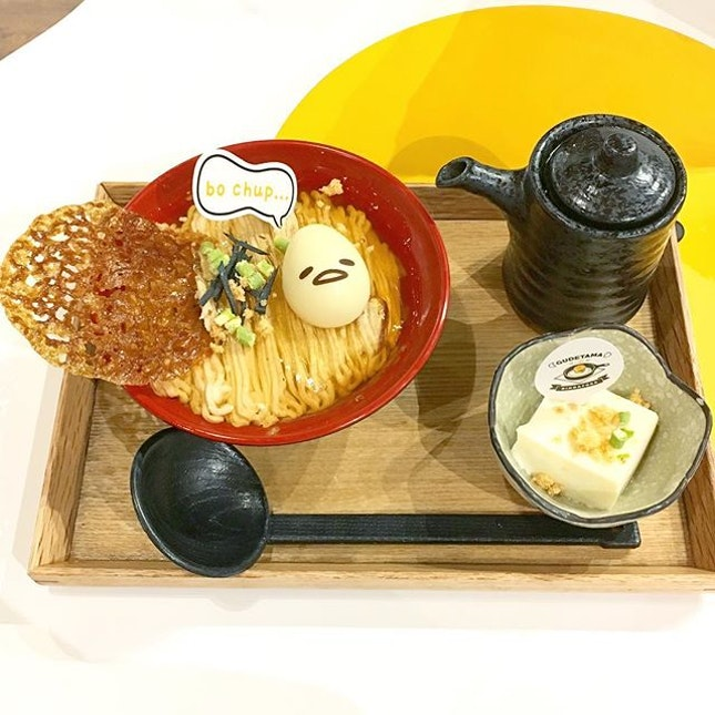 My spirit food- Gudetama.