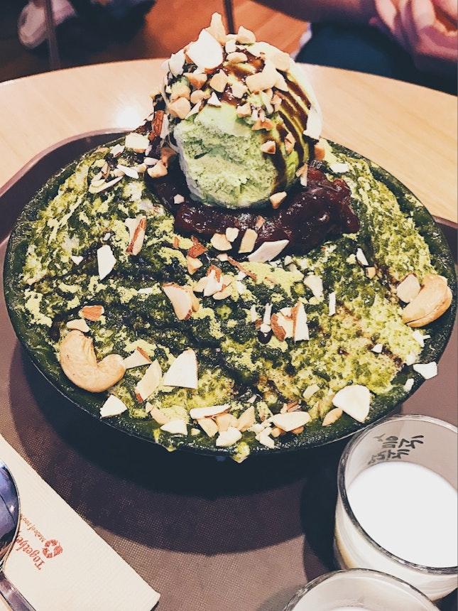 Green Tea bingsuuuu