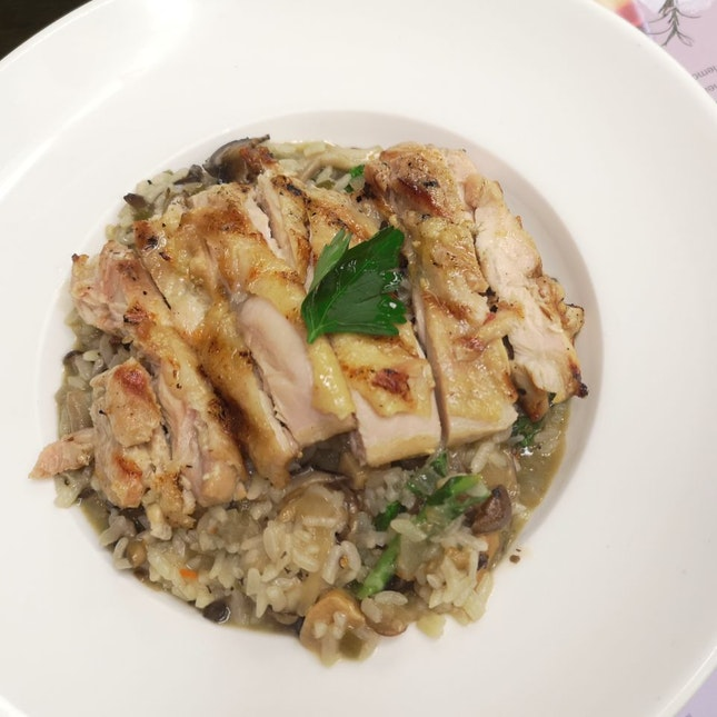 Mushroom Risotto Without Chicken Would Be Best
