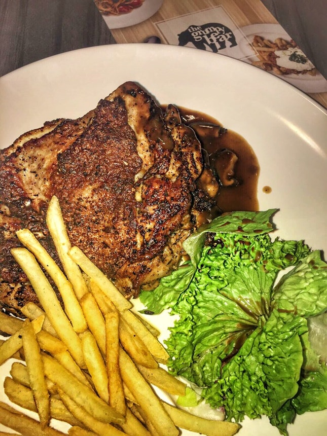 Cajun Chicken Chop