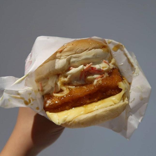 Fish Marinade Burger ($4.45)