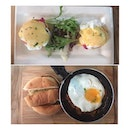 So so delicious Sunday brunch 😋#nofilter #brunch #singaporecafe #passionforfood #burpple