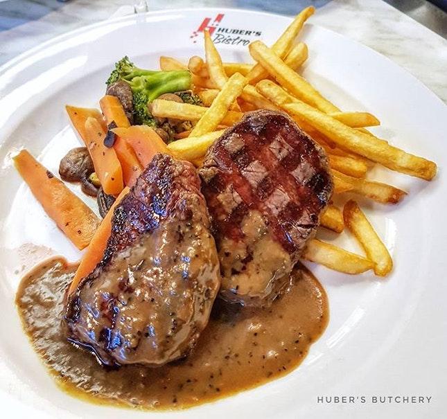 Mooo 🐄 : : #singapore #sg #igsg #sgig #sgfood #sgfoodies #food #foodie #foodies #burpple #burpplesg #foodporn #foodpornsg #instafood #gourmet #foodstagram #yummy #yum #foodphotography #nofilter #dinner #steak #wine #beef #fries #dempsey #hubersbutchery #saturday #weekend