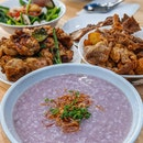 Purple Congee!!