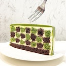 When matcha meets choco , it melts .