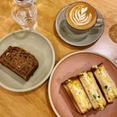Sister to @lidamansarajaya ; a freshly baked goods cafe with a good cuppa that didn't disappoint ☕️ warm-cozy environment •  Delicious warm-crunchy toast with slightly chilled egg salad and a pretty impressive spread of cheese with one of the fresher smoked salmon I've had from a cafe 😍 #highlyRAEted •  Banana Loaf • Egg Salad Sandwich • Smoked Salmon Tartine •  #provisionscafe #li #damansarajaya #bakery #tartine #eggsaladsandwich #bakedgoods #cafemalaysia #cafehopping #coffeeaddict #burpple #burpplekl #tummytalk