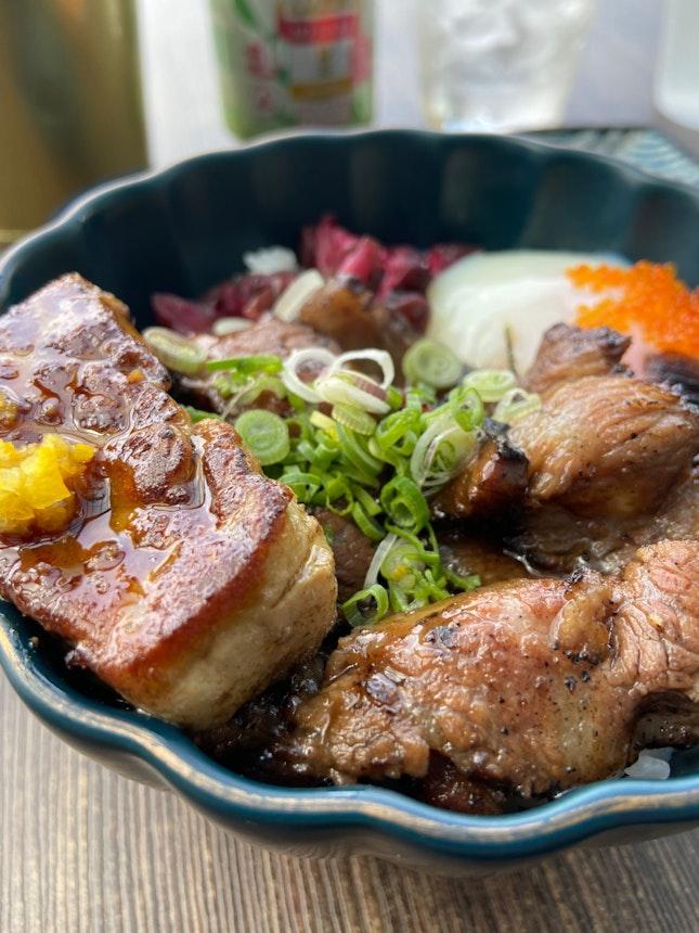 Wagyu Beef Rice With Foie Gras