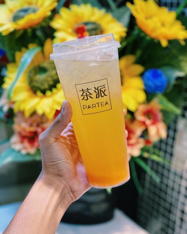 Peach Green Tea ($4 est.)