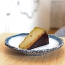 Houjicha Burnt Cheesecake ($8.50)