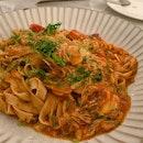 Crabmeat Pasta (Red)