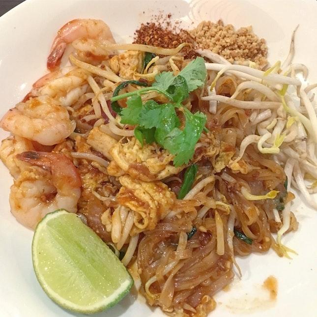 Phad Thai with Prawns