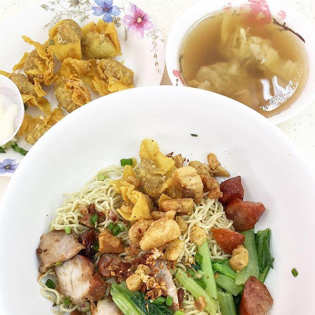 Thai-style Wanton Mee