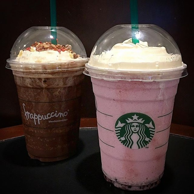 Granola Dark Mocha Frappuccino Vs Acai Mixed 22 26