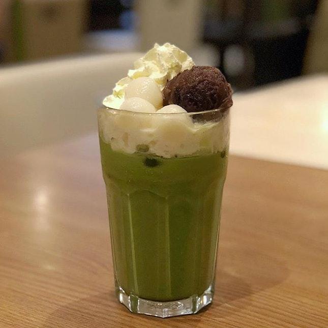 Matcha Azuki Shiratama Latte