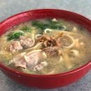 Sliced Pork Belly Ban Mian (Soup)