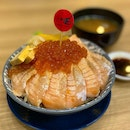 Aburi Salmon Belly Don