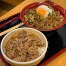 Gyudon and Half Boiled Egg Beef Yakiniku Bowl