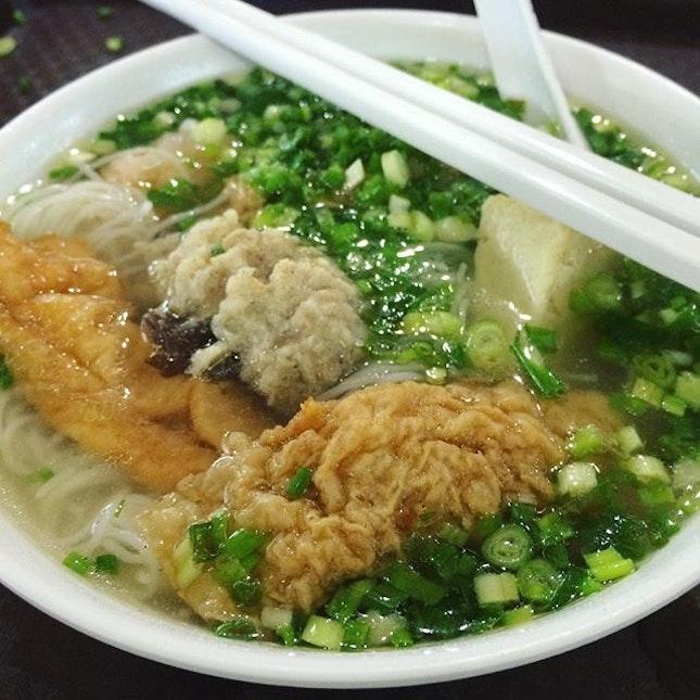 一百分💯 for 百年酿豆腐 favvvvvv ytf because the ingredients are soooooo flavourful and juicy!!