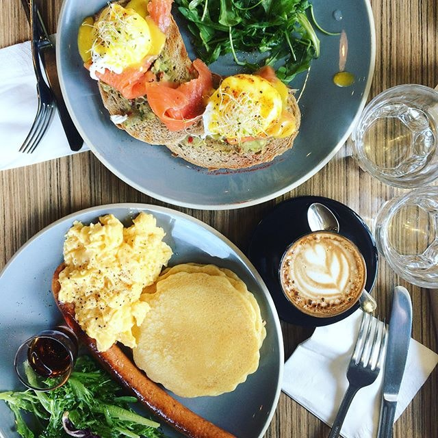 Eggcellent brunch 🍴☕️🍳 not-so-new cafe in the east side but slowly discovering gems like these bit by bit!