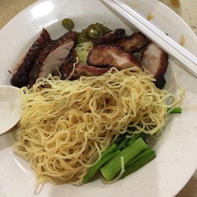 Fei Fei Wanton Noodles Plus Duck Meat $5