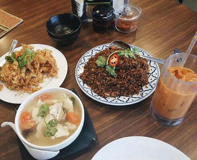 Thai food craving satisfied!