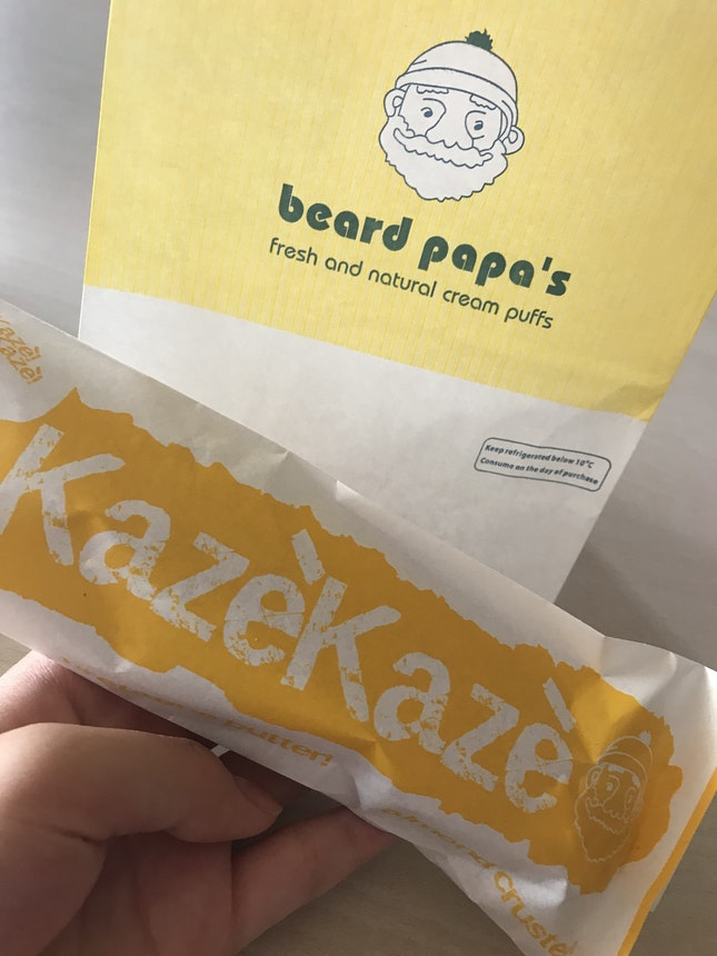 Beard Papa's Cream Puff