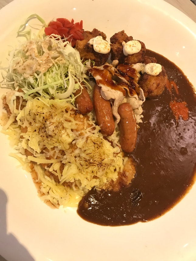 Monster curry 🍛 Mountain Monster