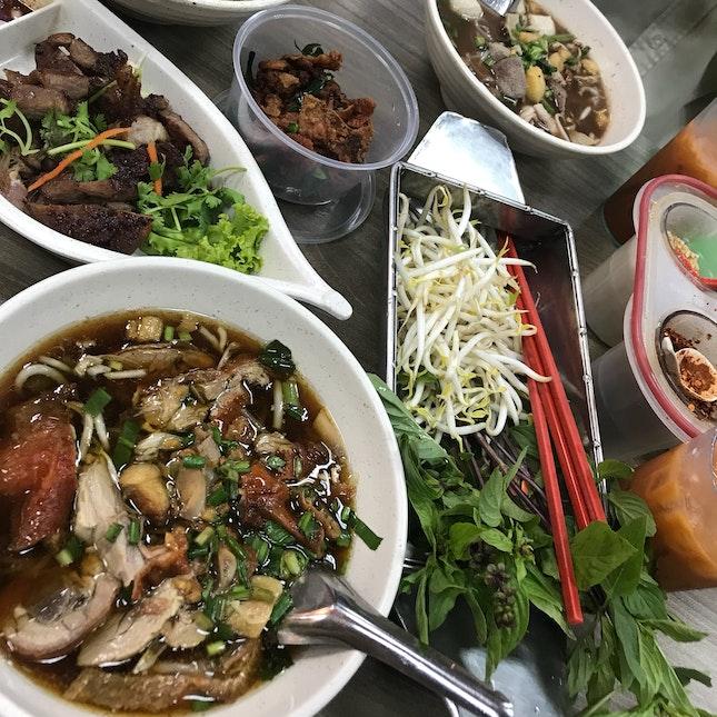 Duck/Beef/Pork Boat Noodles