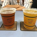 ~ Drinks ~ Price: $12-15  I think it's really damn expensive for craft beer in a hawker center:/ I do appreciate the interesting range of beers ( the cup states young master brewery which is from Hong Kong✨) but in consideration of the growing presence of craft beer culture in Singapore, the price does not give it an edge above the rest.