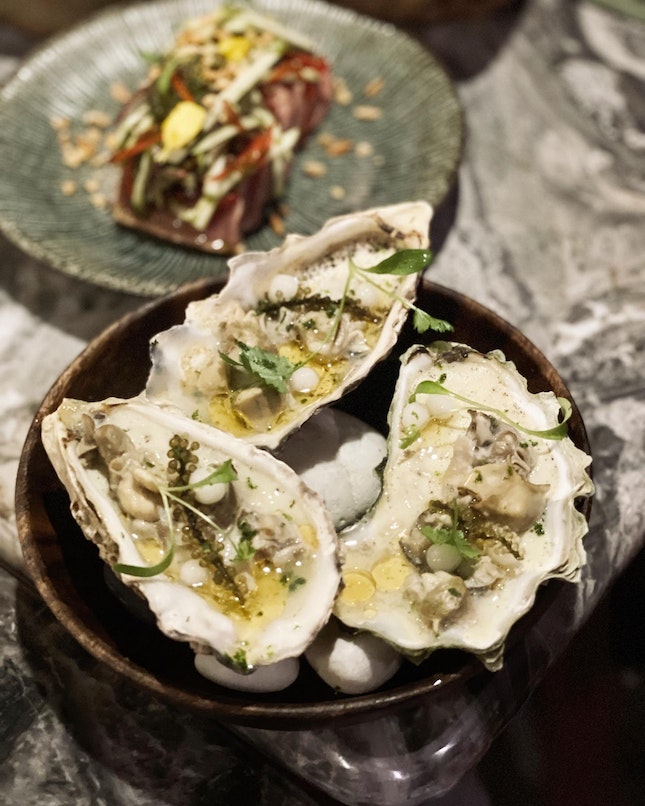OYSTERS EGG