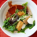 6.5🌟 / 10🌟 Yong Tau Foo @ S$5 for 8 items from Fusionopolis basement food court