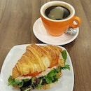 #sgfoodunion 7⭐ / 10⭐ Tuna Sandwich with Brewed Coffee set @ S$5.80 from Maison Eric Kayser Singapore Cafe