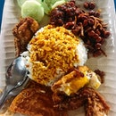 SINGAPORE Ask me about one of my favourite local foods in Singapore, and it will be this Banana Leaf Nasi Lemak at Boon Lay Hawker Centre!