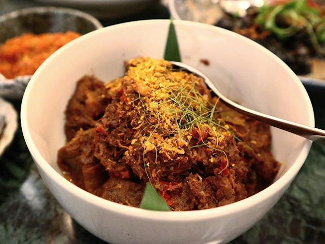 SINGAPORE The most expensive Rendang I've ever had with the best quality and softest texture I've ever tasted.