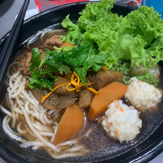 Angelica Herbal Noodles ($7.90)