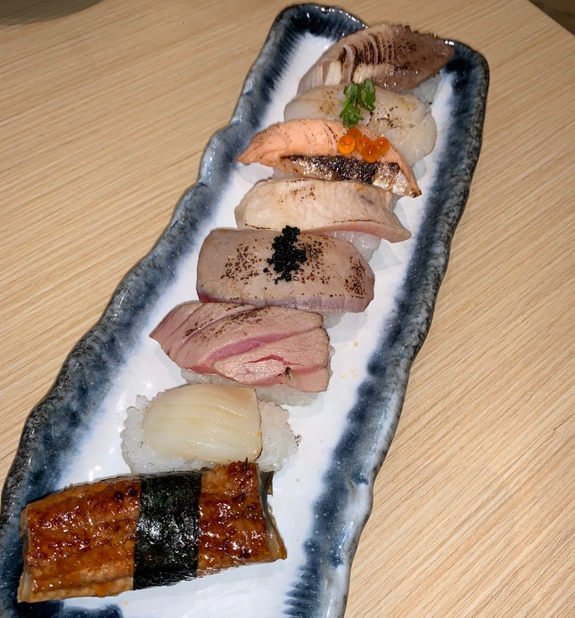 Aburi Sushi ($21.60+)