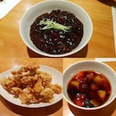 Jjajang-myeon And Sweet&sour Pork