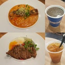 Ended a long day of farm-hopping with calories-filled food to replenish some calories..