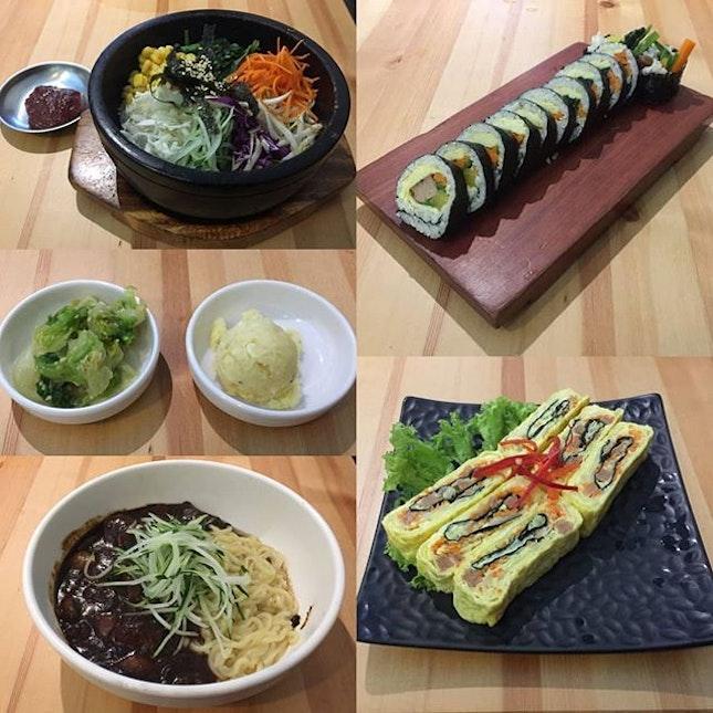 Finally tried a different version Korean food: Vegetarian..