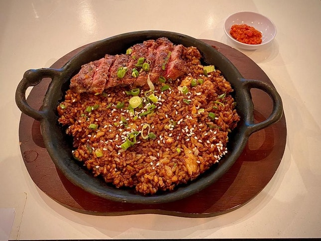 BEEF & SCORCHED RICE