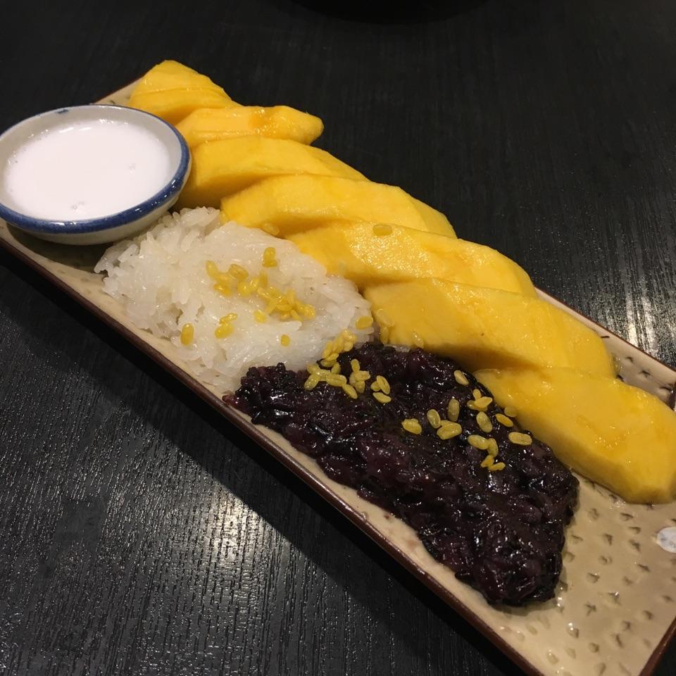 Mango Sticky Rice ($8)