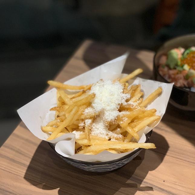 Truffle Fries ($8)