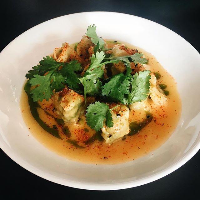 Prawn Wanton, Thai Butter Sauce (RM18)