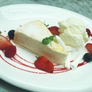 White Mille Crepe Cake 👆!