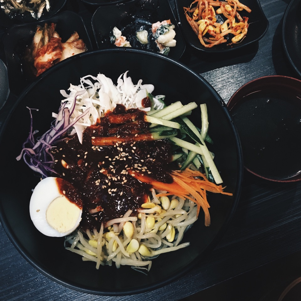 Spicy Chewy Noodles, Jjolmyeon