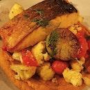 🇸🇬 Sarnies ⠀ ▪️Crispy Salmon ▪️Beef Cheek ▪️Chicken Pram ▪️Pan-Roasted Barramundi ▪️Roast Chicken Salad  #burpple#food #foodgasm#foodgram#foodie #foodiesg#foodlove#foodlover#foodphotography #foodpics #foodporn #foodshare#foodsg #foodstagram #igers#igfood #igfoodporn #igsg#instafood#instagramsg #instasg#sg#sgeats #sgfood#sgfoodie#sgfoodies #sgfoodporn #sgig#singapore #singaporefood