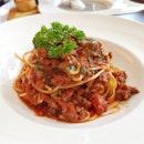 Spaghetti Bolognese ($5.90 lunch promo)