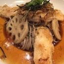 Yuzu Lotus Root Soba with Grilled Fish $9.90